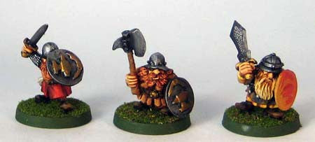 Dwarf Warriors I (3)