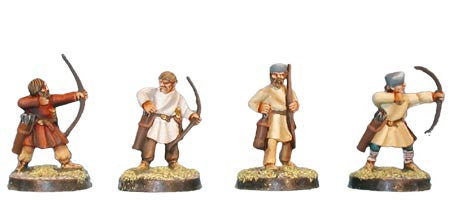 Late Roman Unarmoured Archers (4)
