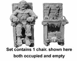 Torture Chair & Victim