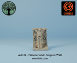 AA134 - Prisoner and Dungeon Wall