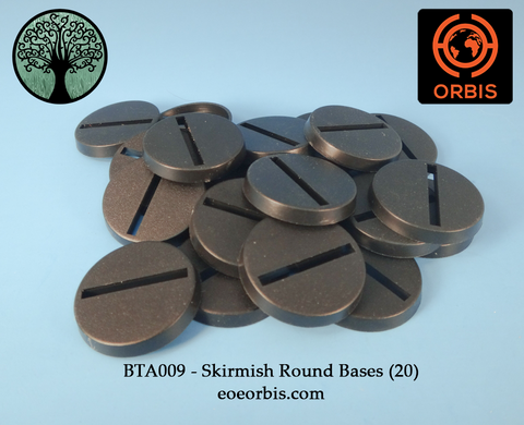 BTA009 - Skirmish Round Bases (20)