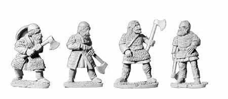Viking Armoured with Axes (4)
