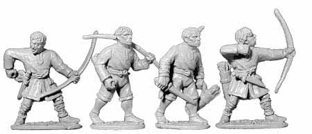Norman Unarmoured Archers (4)