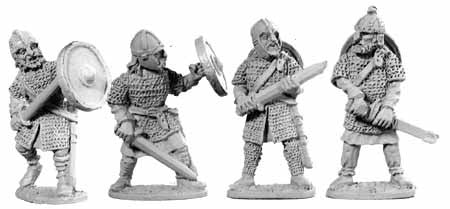 Saxon Huscarles with Swords (4)