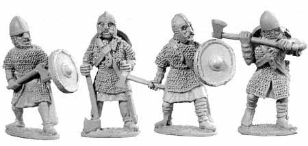 Saxon Huscarles with Axes (4)