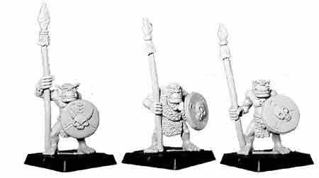 Barbarian Orc Spearmen I (3)