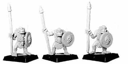 Barbarian Orc Spearmen II (3)