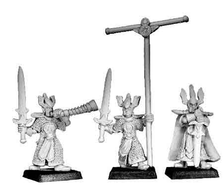 High Elf Sword Warders Command (3)