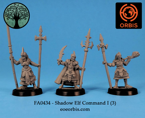 FA0434 - Shadow Elf Command I (3)