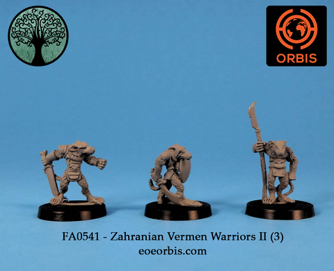 FA0541 - Zahranian Ver'men Warriors II (3)
