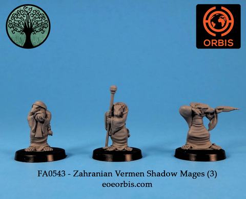 FA0543 - Zahranian Ver'men Shadow Mages (3)