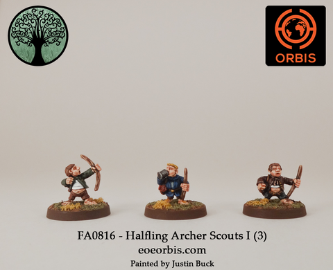 FA0816 - Halfling Archer Scouts I (3)