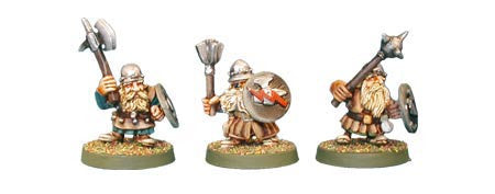 Dwarf Warriors III (3)