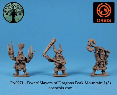FA0971 - Dwarf Slayers of Dragon's Peak Mountain I (3)
