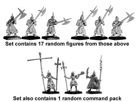Shadow Elf Halberdiers (18)