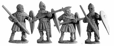 2nd Crusade Armoured Spearmen II (4)