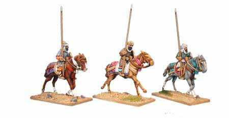Warriors of Islam Armoured Cavalry with Spears (3)