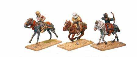 Warriors of Islam Light Cavalry with Bows (3)
