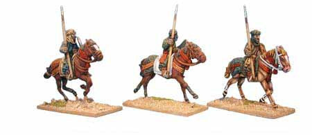 Warriors of Islam Light Cavalry with Spears (3)