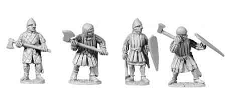 2nd Crusade Light Armoured Axemen (4)
