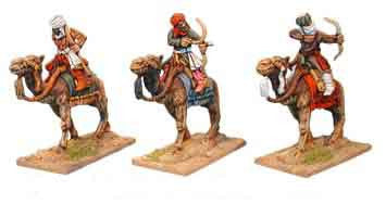 Warriors of Islam Camel Cavalry with Bows I (3)