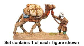 Warriors of Islam Baggage Camel and Handler (1)