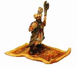 Saracen Vizier on Flying Carpet (1)