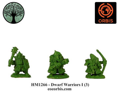 HM1266 - Dwarf Warriors I (3)