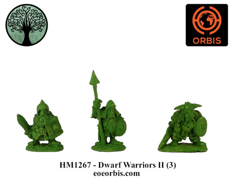 HM1267 - Dwarf Warriors II (3)