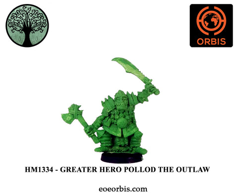 HM1334 - Barnorsk Hero - Pollod The Outlaw