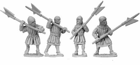 Infantry with Halberds (4)