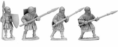 Infantry with Spears (4)
