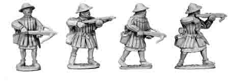 Early Infantry Crossbows (4)