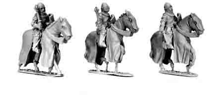 Cavalry Knights with 1-Handed Weapons (3)