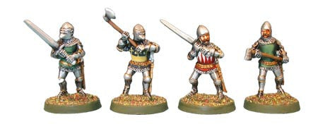 Late Knights with 2 Handed Weapons (4)