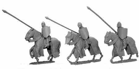 Late Knights Cavalry with Lowered Lances (3)