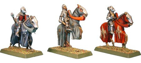 Late Knights Cavalry with Handweapons (3)
