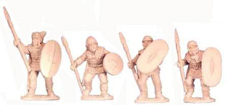 Celtic Nobles with Spears I (4)