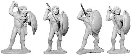 Athenian Naked Spearmen I (4)