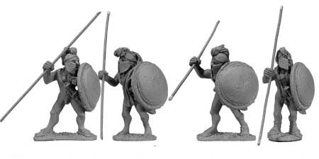 Greek Naked Spearmen I (4)