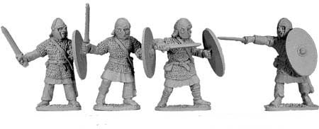 Late Roman Armoured Swordsmen (4)
