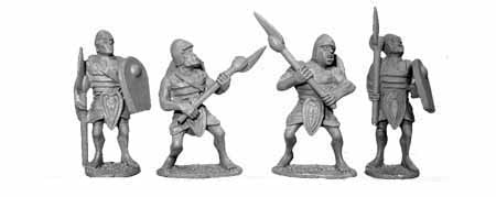Egyptian Armoured Axemen (4)