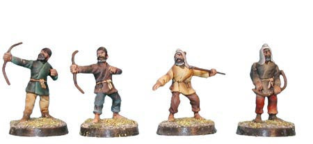Scythian Dismounted Archers (4)