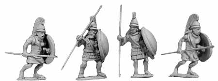 Athenian Armoured Spearmen (4)