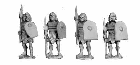 Egyptian Mace/Axe Soldiers II (4)