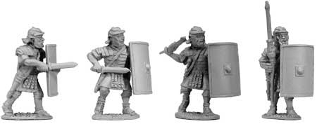 Legionaries with Britches Various Poses II (4)