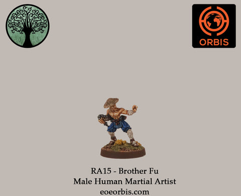 RA15 - Brother Fu - Male Human Martial Artist