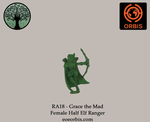 RA18 - Grace the Mad - Female Half Elf Ranger