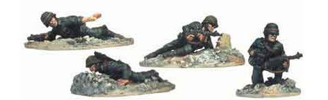 Wehrmacht Infantry Prone and Kneeling I (4)