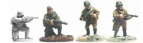 Soviet Riflemen with SMGs (4)